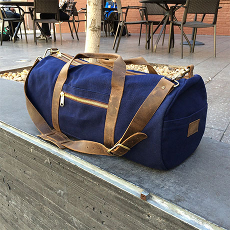 Crafted_American_Gustin_Waxed_Canvas_Navy_Duffle_Bag